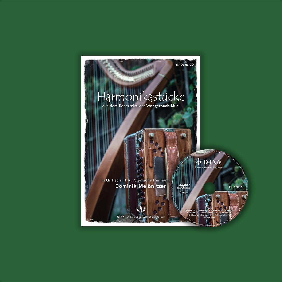 Noten für Harmonika Griffschrift